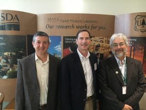 2017-2018 NAUFRP Officers Jim Allen, Past President (Northern Arizona University); Keith Belli, President (University of Tennessee); David Newman, President-Elect (SUNY)